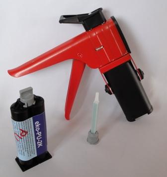 PU-2-K-Kleber schwarz