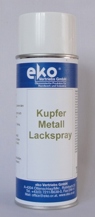 Kupfer-Metall-Lackspray
