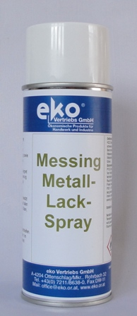 Messing-Metall-Lackspray